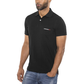 DIDRIKSONS William Poloshirt korte mouwen Heren, black